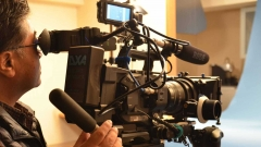 4Kカメラによる撮影風景