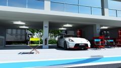 ガレージのCG作例