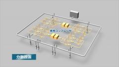 工業施設概念図CGの作例