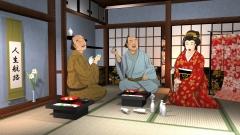 江戸時代の生活CGの作例
