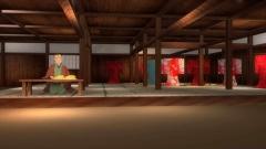 江戸時代の呉服問屋の三次元CG画像作例(歴史CGの作例)