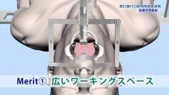 手術術式手技CGの作例