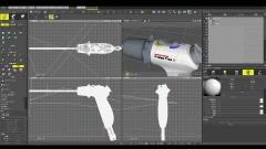 医療機器CGモデリング作例