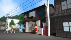 歴史時代CG作例。高度成長期の駄菓子屋。