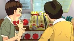 歴史時代CG作例、高度成長期の駄菓子屋にて。