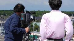 ハイビジョンHD放送用カメラによる映像制作現場