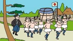 歴史イラスト、江戸時代の様子イラスト