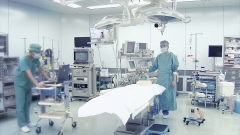 手術室での撮影