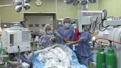 手術室撮影風景