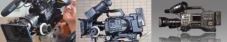 撮影機材・カメラの事例
